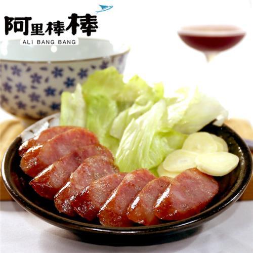 《阿里棒棒》紅酒飛魚卵香腸(300g/包,共三包)