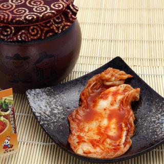 【mi將的店】發酵家族手工韓國泡菜-半顆2瓶組(600G+-20G/瓶)