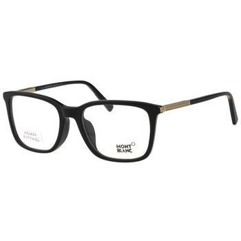 萬寶龍MONTBLANC 光學眼鏡(黑色) MB544F-001