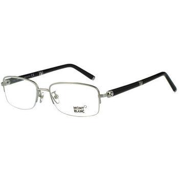 萬寶龍MONTBLANC 光學眼鏡(銀色) MB535-016