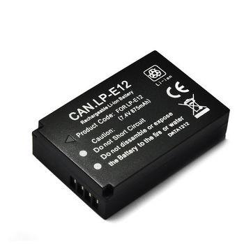 Canon LP-E12 / LPE12 / EOS M高品質防爆相機電池