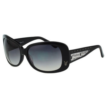 PLAYBOY-時尚太陽眼鏡( 黑色 ) PB83009