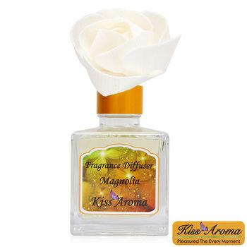 【Kiss Aroma】浪漫滿屋精油擴香瓶-玫瑰玉蘭(Magnolia)