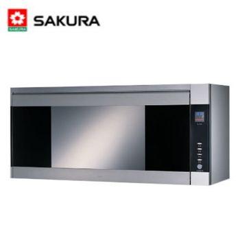【櫻花】Q-7580SXL 吊櫃式雙效殺菌烘碗機 90CM