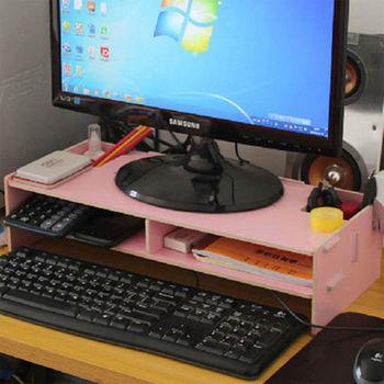 【買達人】DIY電腦置物增高置物架