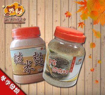 【台灣小糧口】亞麻粉+糙米麩組