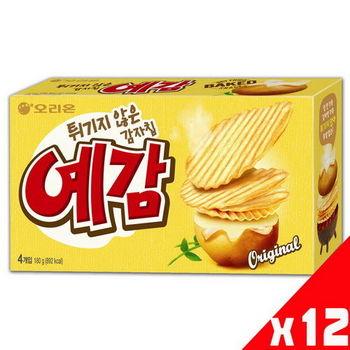 【好麗友】預感烘焙洋芋片-原味(180gx12盒)