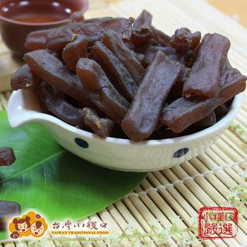 【台灣小糧口】炭烤魷魚蒟蒻條-100g