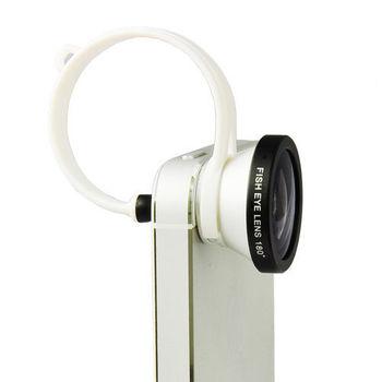 手機專用魚眼鏡頭組 盒裝 送高級拭鏡布