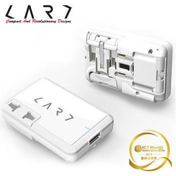 【CARD】CA2-W 旅行萬國插座 (晶鑽白)