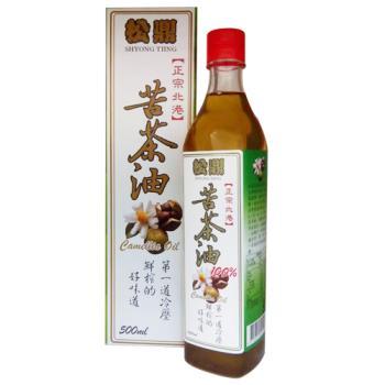 松鼎正宗北港100%苦茶油1瓶(盒裝)500ml
