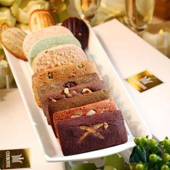 《COURONNE法式珠寶甜點》奉獻禮盒-法式點心(12入)
