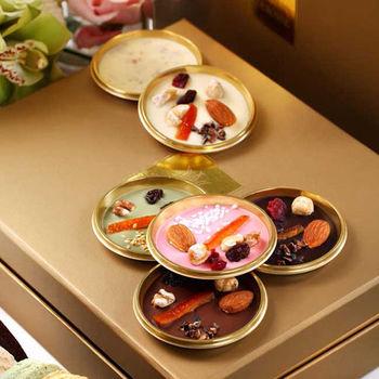 《COURONNE法式珠寶甜點》奉獻禮盒-蒙地安頂級珠寶巧克力8入(口味隨機出貨)