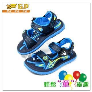 【G.P】親子同樂-磁扣兩用涼鞋G5921B-22(淺藍色)共四色(28-34尺碼)