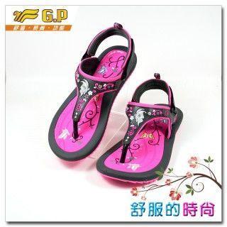 【G.P 時尚精美平底女鞋】G5957W-49 灰粉色(36~39) 共三色