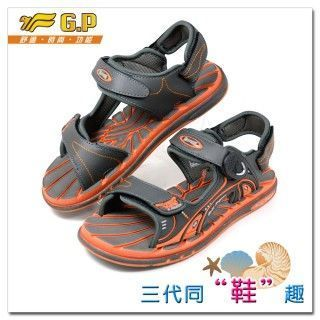 【G.P】親子同樂兩用涼鞋(36-44尺碼)-G5922-42(橘色)共有三色