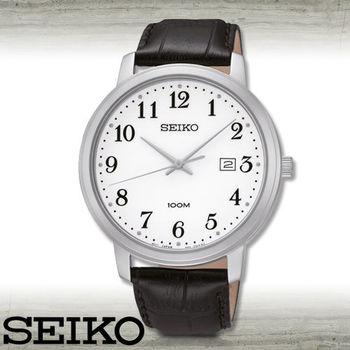【SEIKO 精工】送禮首選_數字指針男錶_錶殼4.2公分(SUR113P1)