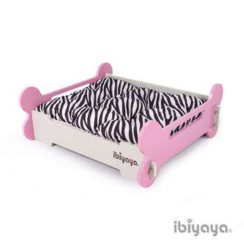【IBIYAYA依比呀呀】寵物傢俱系列-寵物骨頭床-M-粉米(FF1206)