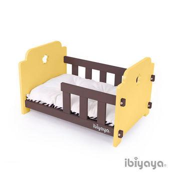 【IBIYAYA依比呀呀】寵物傢俱系列-寵物欄杆床-黃咖(FF1204)