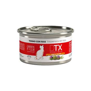 【GREEN FISH】葛林菲 DTX低敏護肝貓食糧-鮪魚+米 貓罐80G X 32入