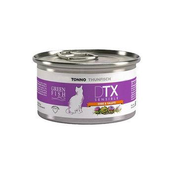 【GREEN FISH】葛林菲 DTX低敏護肝貓食糧-鮪魚 貓罐80G X 32入