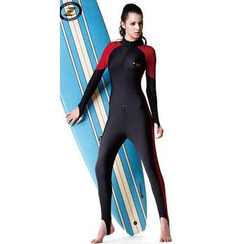 【SARBIS】抗UV防水母螫咬連身水母衣(中性款) 加贈造型短襪x1雙C0089