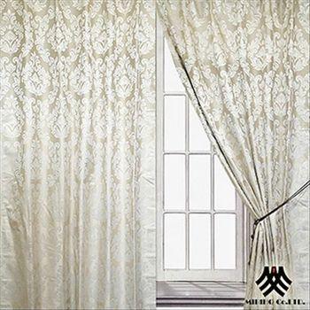 【M.B.H】巴芙克麗落地遮光穿掛窗簾(270*230cm)