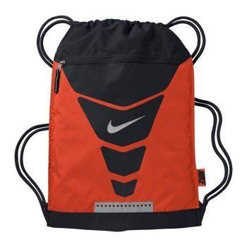 【Nike】2015時尚汽Vapor健身橙黑色後背包(預購)