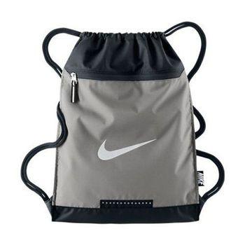 【Nike】2015時尚團隊訓練灰黑色後背包(預購)