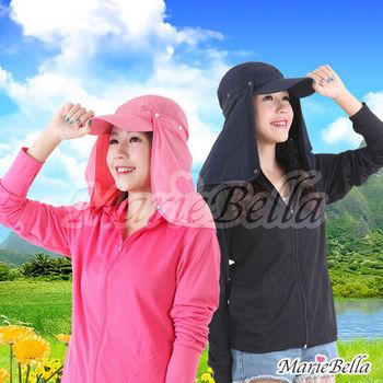 Marie Bella 抗UV+UPF透氣防曬護頸遮陽帽