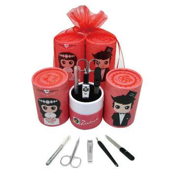 【婚禮小物】畢加索筒型五件式修容組50入-西式 PS-008