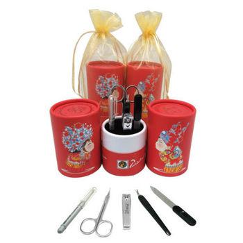 【婚禮小物】畢加索筒型五件式修容組50入-中式 PS-008B