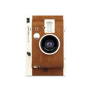 Lomography Lomo Instant 拍立得 限量棕色 單機組(公司貨)