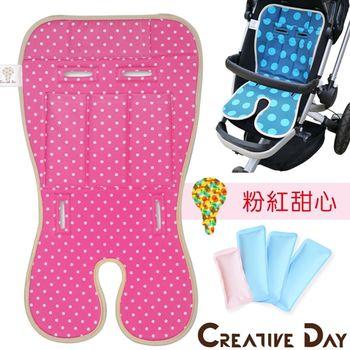 【CD宅一起 Baby Seater】嬰兒專用推車涼墊/汽車安全座椅用涼感墊