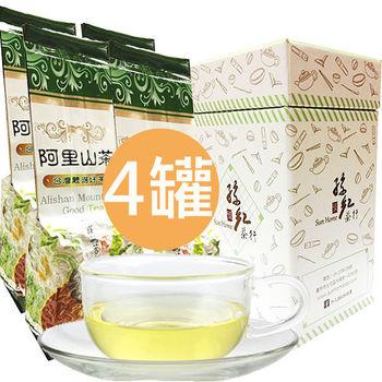 孫紅茶行 果香阿里山烏龍茶 4入150公克/罐