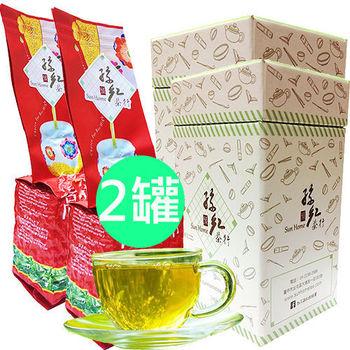 孫紅茶行 香醇四季春茶 雙入150公克/罐
