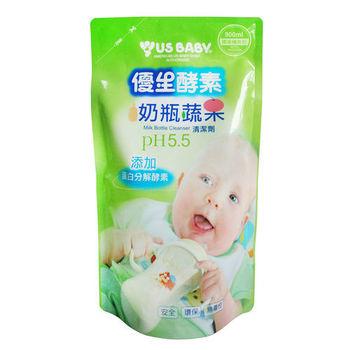 優生酵素奶瓶清潔劑900ml補充包