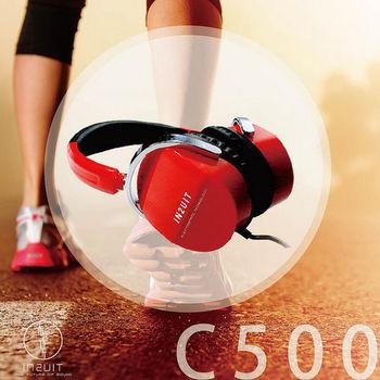【IN2UIT】C500 時尚樂活 混和式靜電耳機 (法拉利紅)
