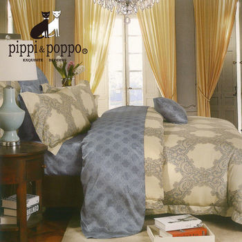 【R.Q.POLO】奧戴麗絲 60支 100%天絲雙人標準七件式床罩組(5X6.2尺)