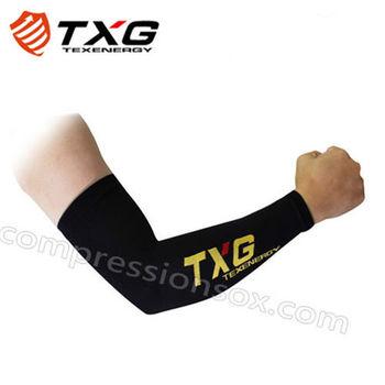 【TXG】運動減壓袖套(黑/S-L)