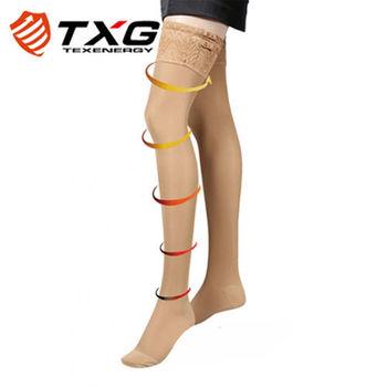 【TXG】蕾絲調整大腿襪-進階型(膚/S-XL)