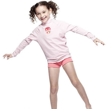 【SAIN SOU】女童水母衣單件 加贈造型短襪x1雙