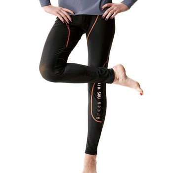 【SAIN SOU】抗UV防水母螫咬水母褲 加贈造型短襪x1雙