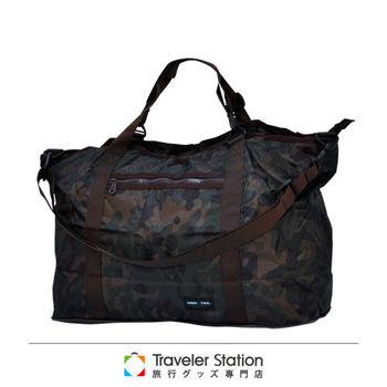 《Traveler Station》HAPI+TAS 摺疊媽媽包 新款-228男版軍綠色迷彩