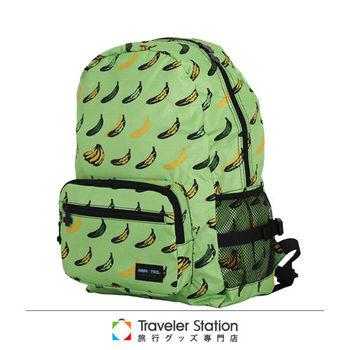 《Traveler Station》HAPI+TAS 摺疊後背包 新款-232綠色香蕉共和國