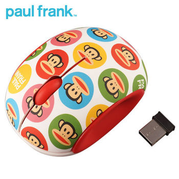 【Paul Frank】大嘴猴無線滑鼠(PF491WP)