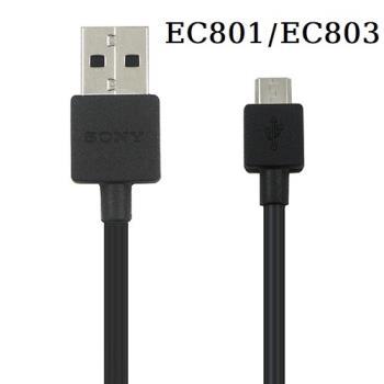 Sony 原廠傳輸充電線 Micro USB接頭 EC801