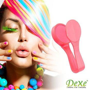 DEXE 繽紛著色糖果夾 橘紅色