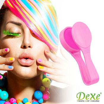 DEXE 繽紛著色糖果夾 粉紅色