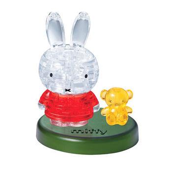 《3D 立體水晶拼圖》米飛兔